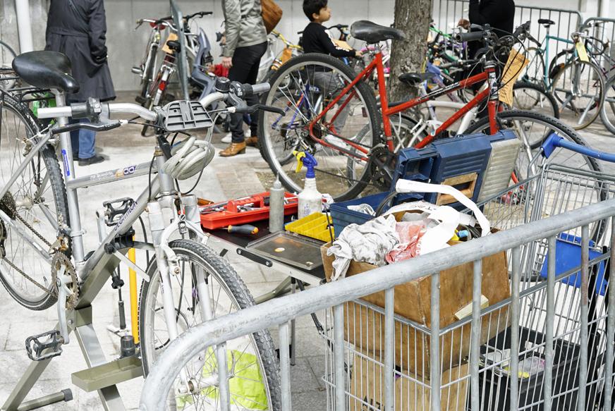 Bourse aux vélos du 18 Mai 2019 - Atelier de Rue