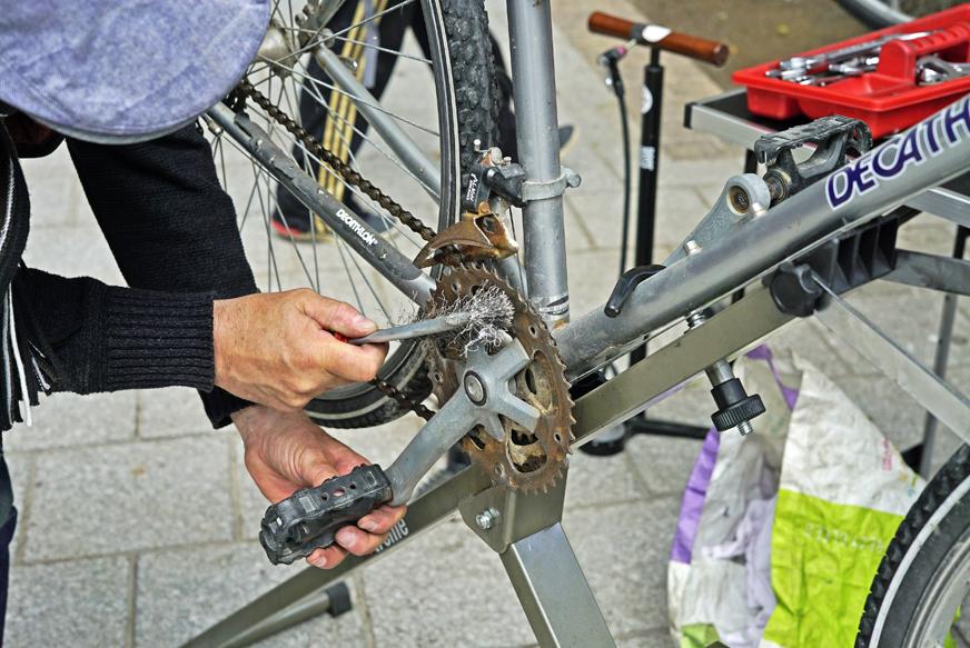 Bourse aux vélos du 18 Mai 2019 - Réparation